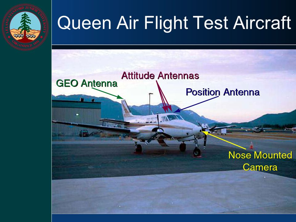 Queen Air Flight Test Aircraft
