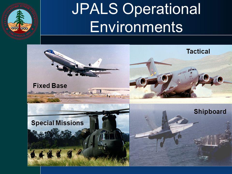 JPALS Operational Environments