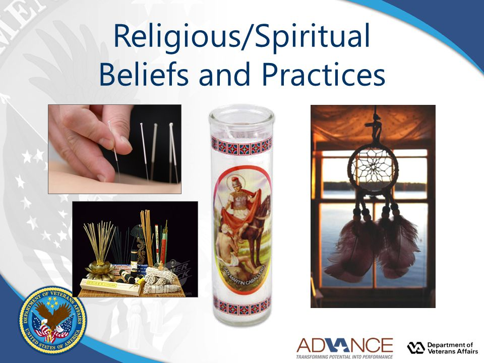 Religious/Spiritual Beliefs and Practices