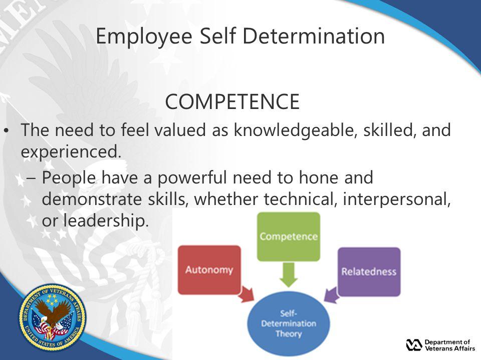 Employee Self Determination