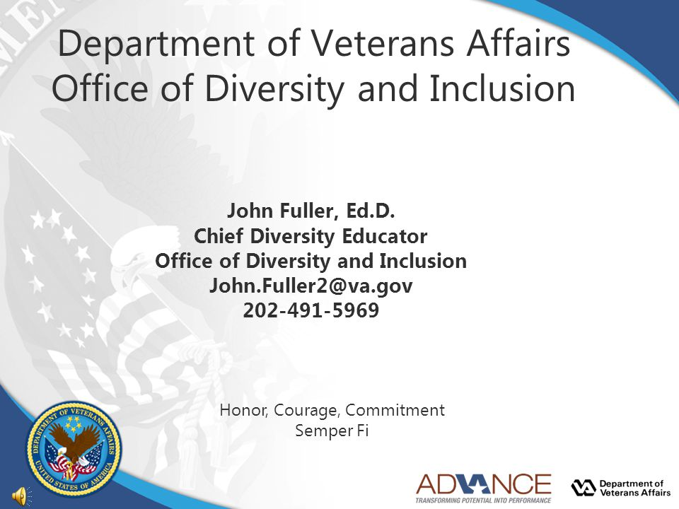 Department of Veterans Affairs Office of Diversity and Inclusion