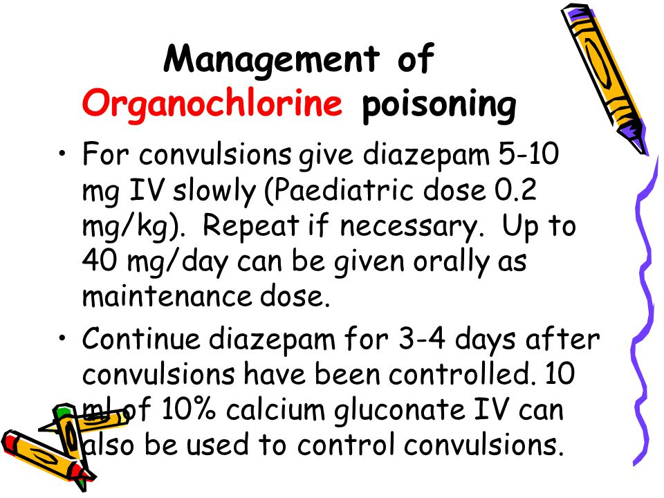 Management of Organochlorine poisoning