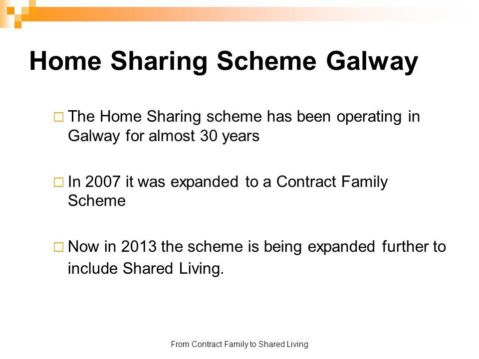 Home Sharing Scheme Galway