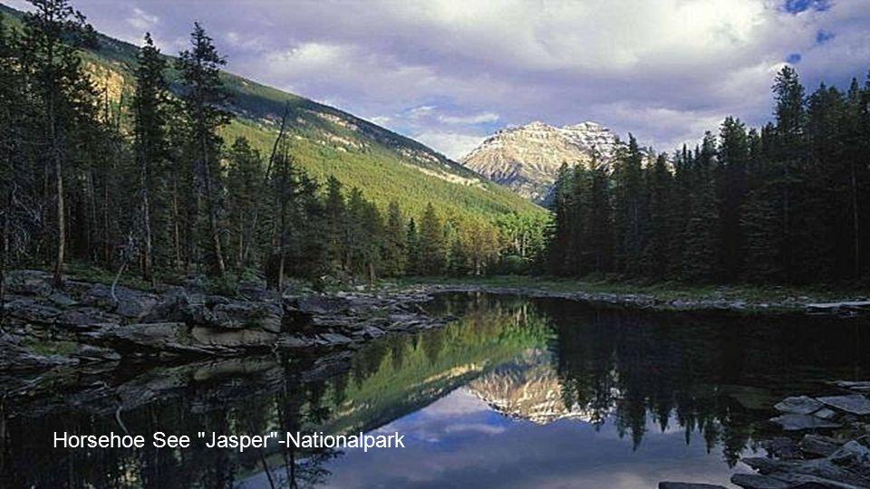Horsehoe See Jasper -Nationalpark