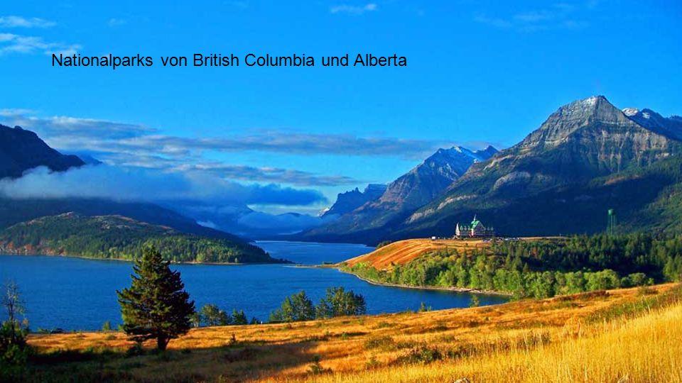 Nationalparks von British Columbia und Alberta