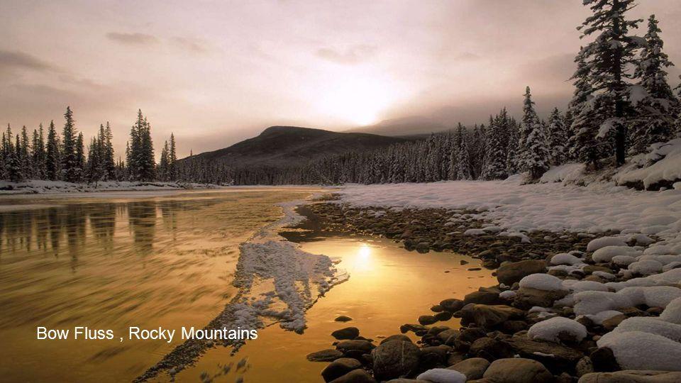 Bow Fluss , Rocky Mountains