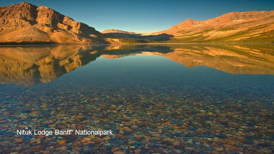 . Nituk Lodge Banff Nationalpark