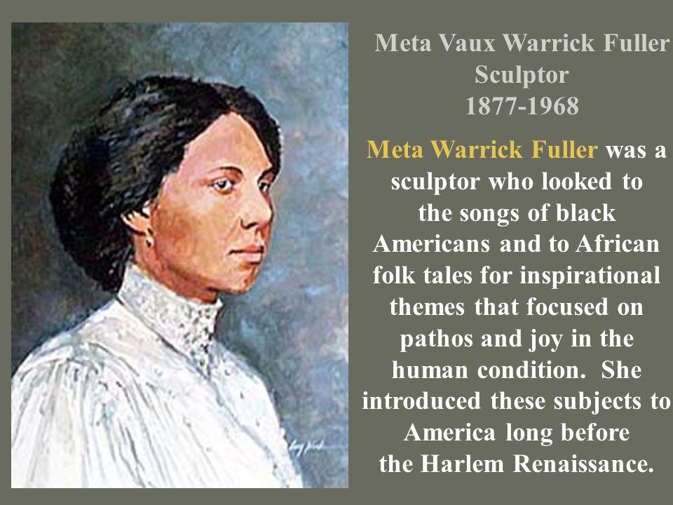 Meta Vaux Warrick Fuller Sculptor 1877-1968