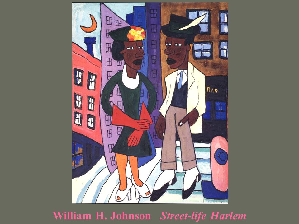 William H. Johnson Street-life Harlem