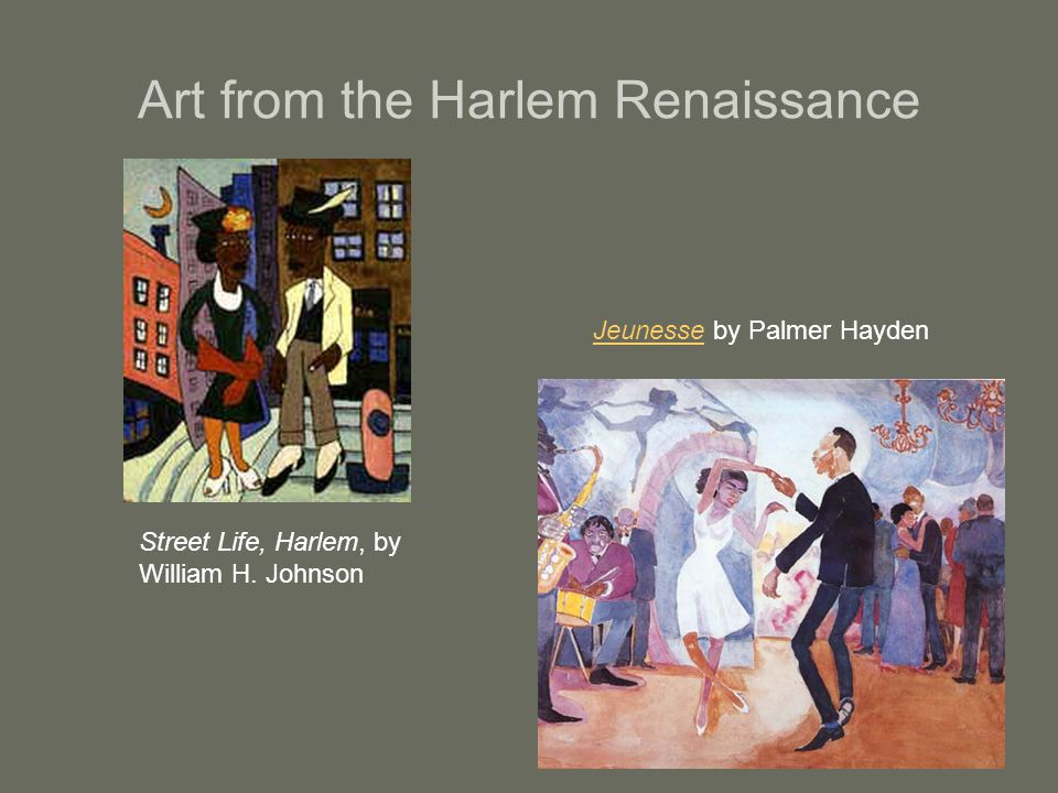 Art from the Harlem Renaissance