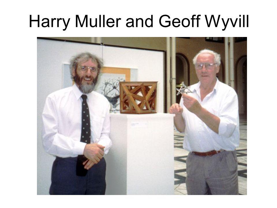Harry Muller and Geoff Wyvill