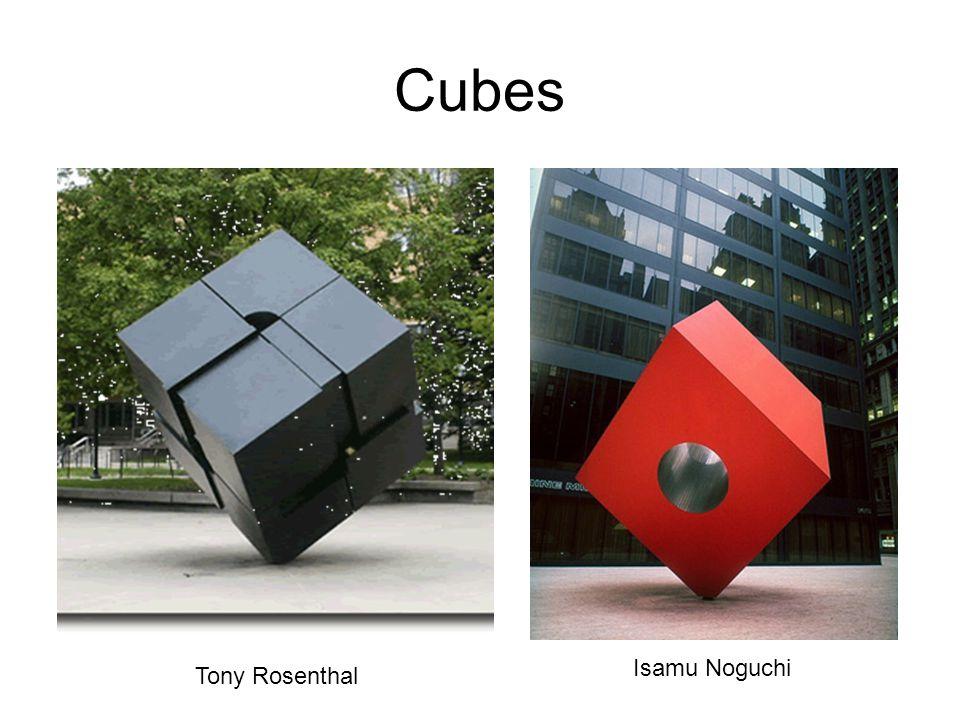 Cubes Isamu Noguchi Tony Rosenthal
