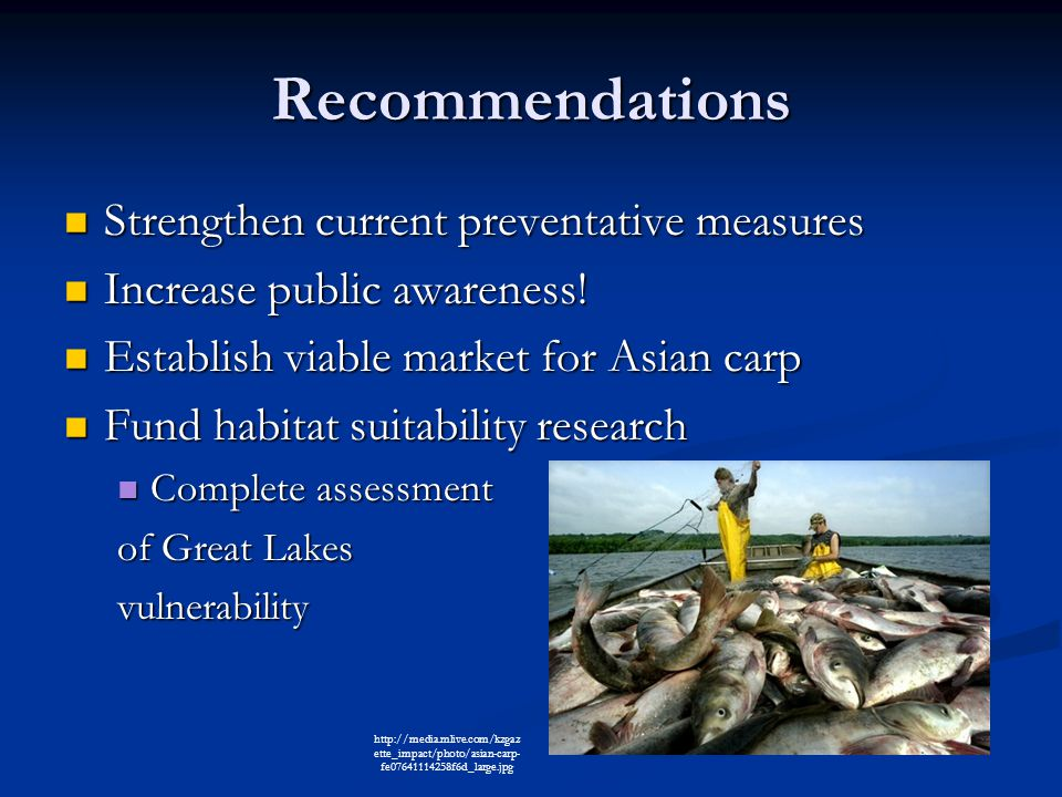 Recommendations Strengthen current preventative measures