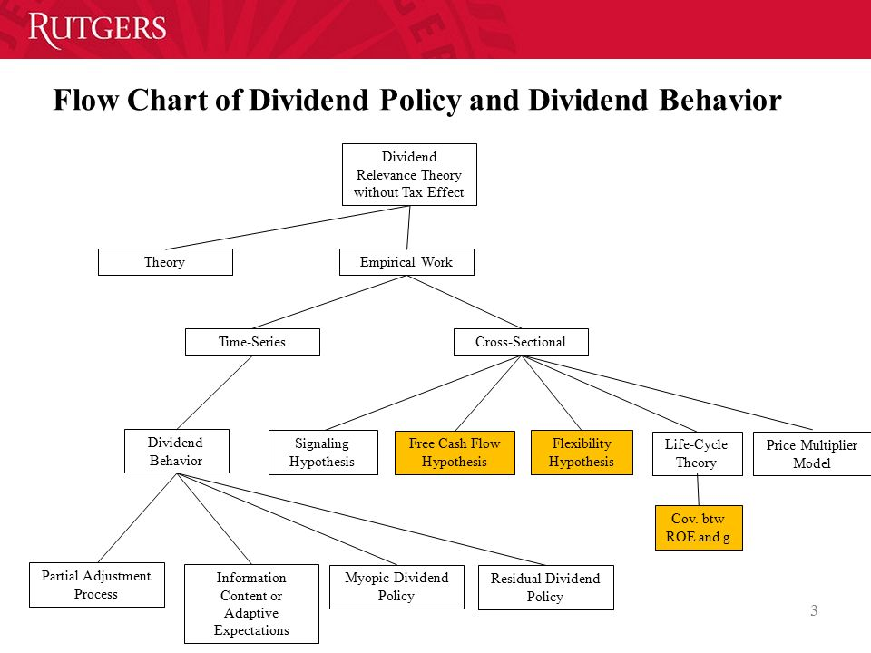 Flow Chart of Dividend Policy and Dividend Behavior