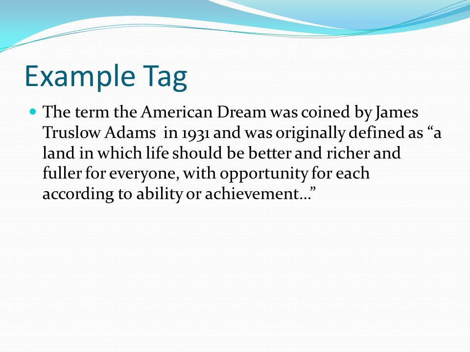 the american dream 9 essay In this essay on the american dream, as several others have, we shall attempt to answer the question what is the american dream each american can give their unique answer to this question, but there is an underlying aspect of success and prosperity.