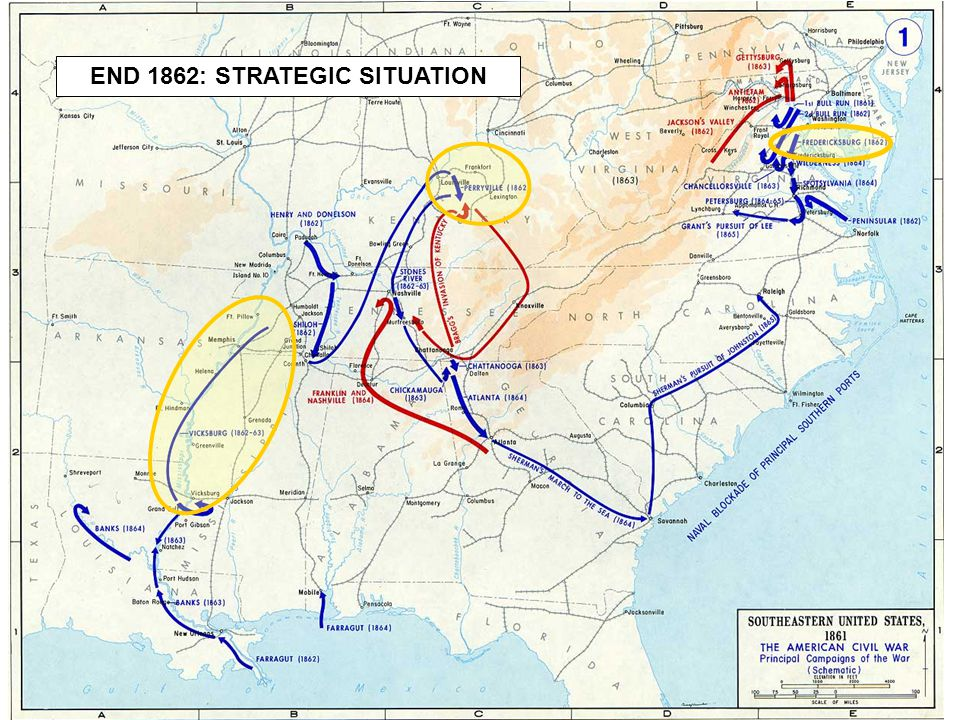 END 1862: STRATEGIC SITUATION