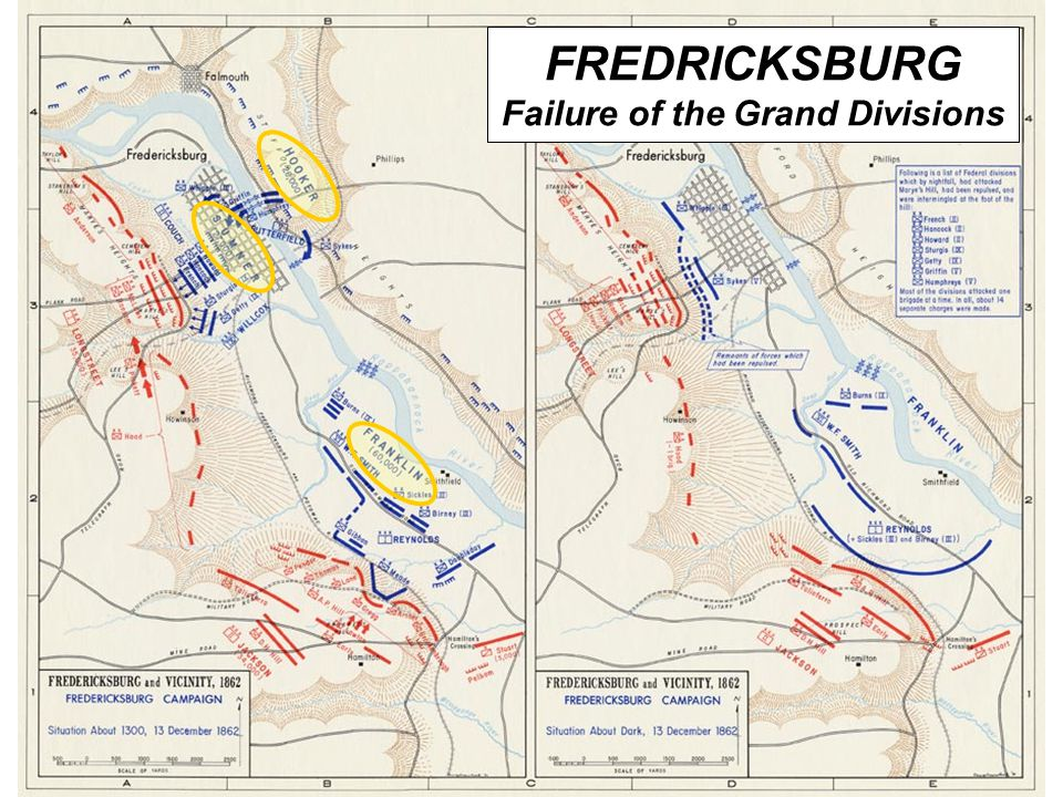FREDRICKSBURG Failure of the Grand Divisions