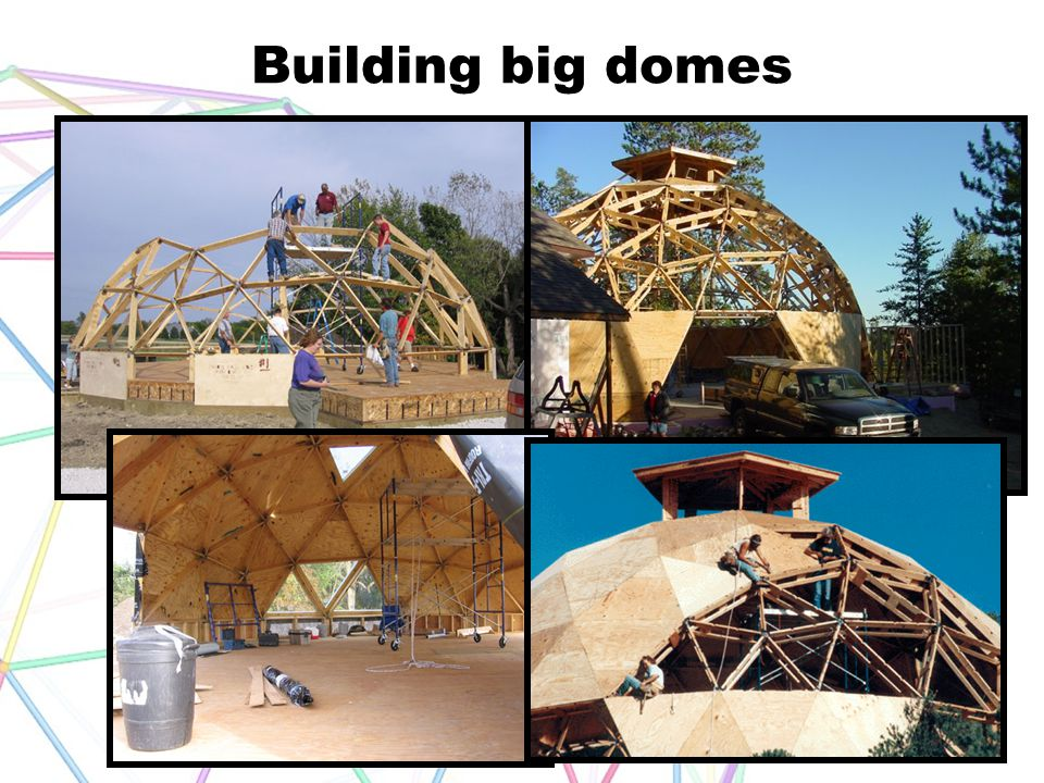 Building big domes