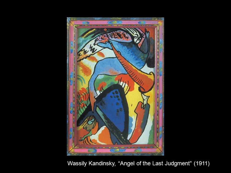 Wassily Kandinsky, Angel of the Last Judgment (1911)