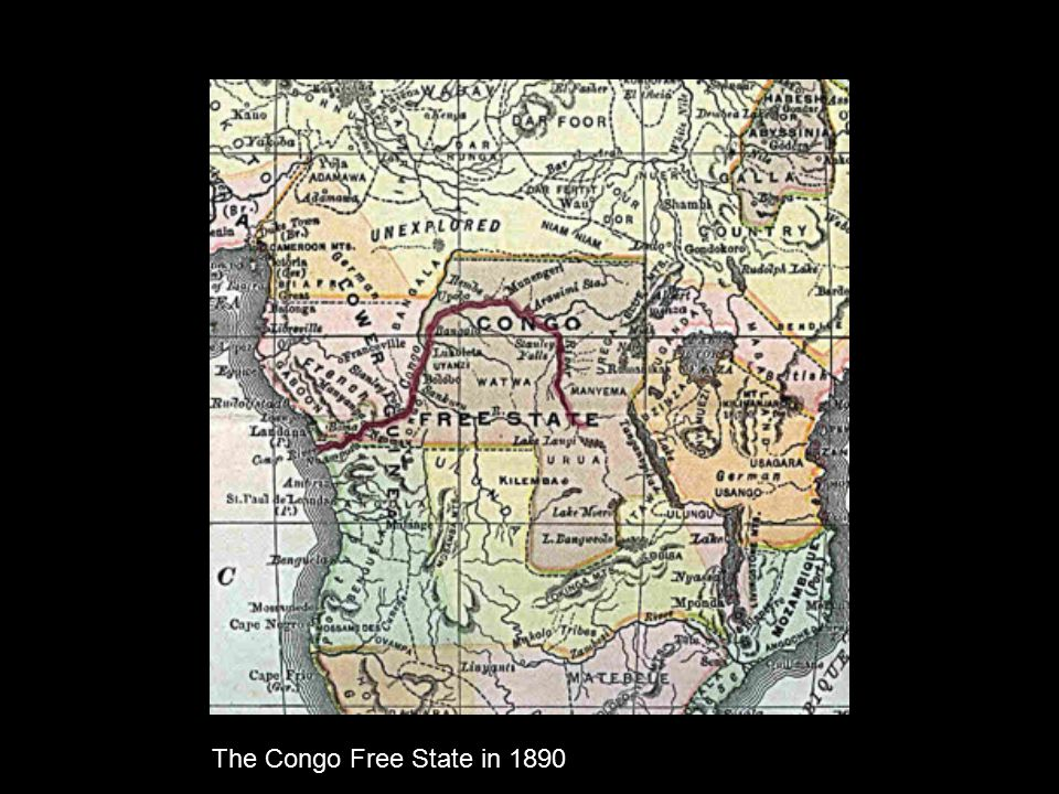 The Congo Free State in 1890