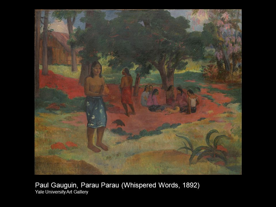 Paul Gauguin, Parau Parau (Whispered Words, 1892)