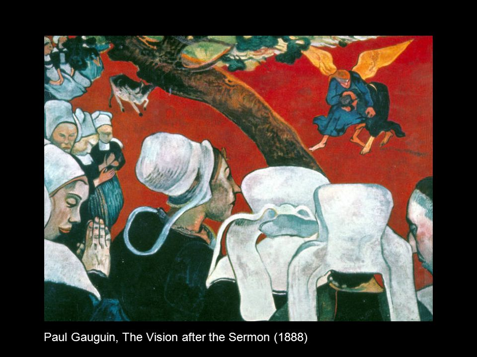 Paul Gauguin, The Vision after the Sermon (1888)
