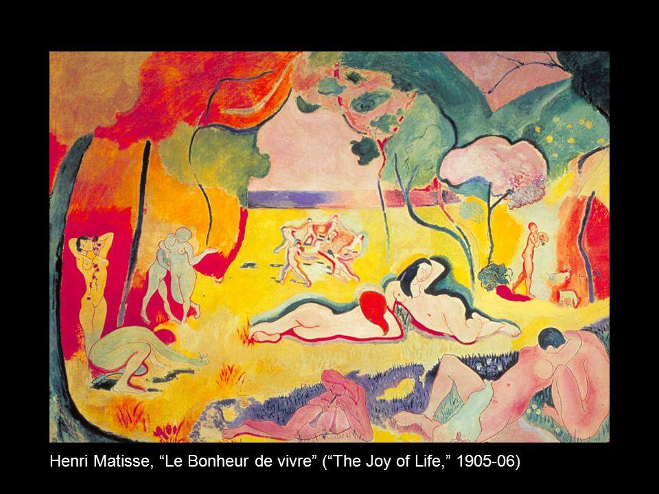 Henri Matisse, Le Bonheur de vivre ( The Joy of Life, 1905-06)