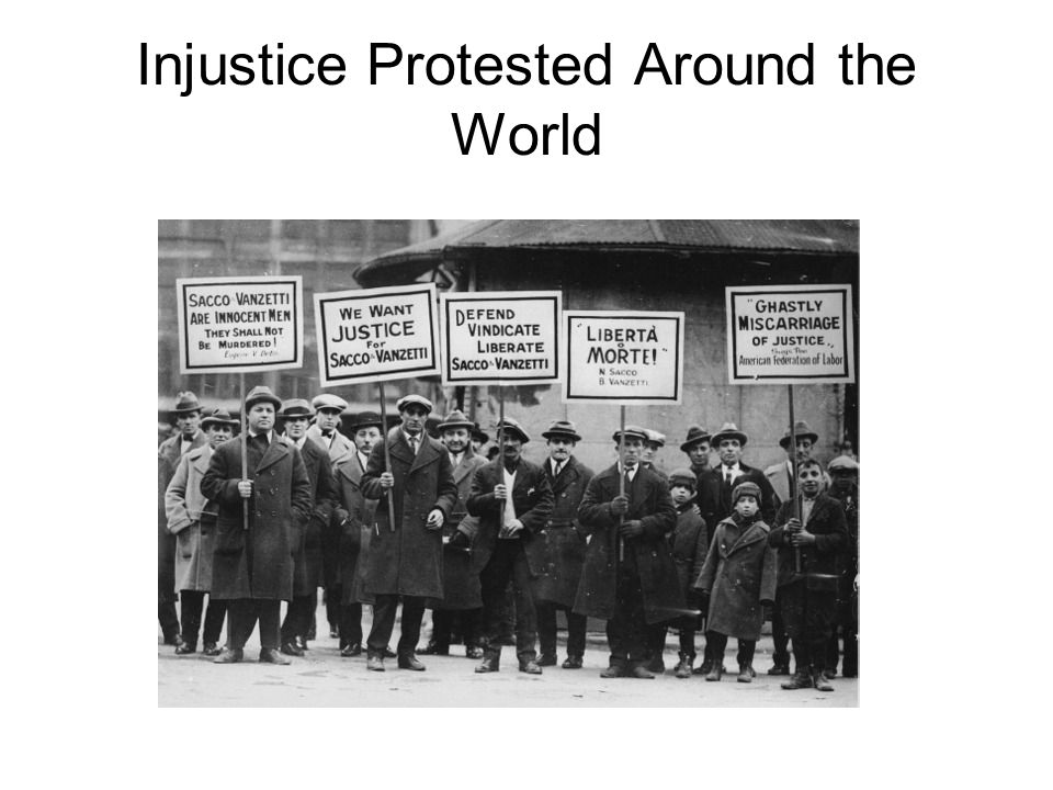 Injustice Protested Around the World