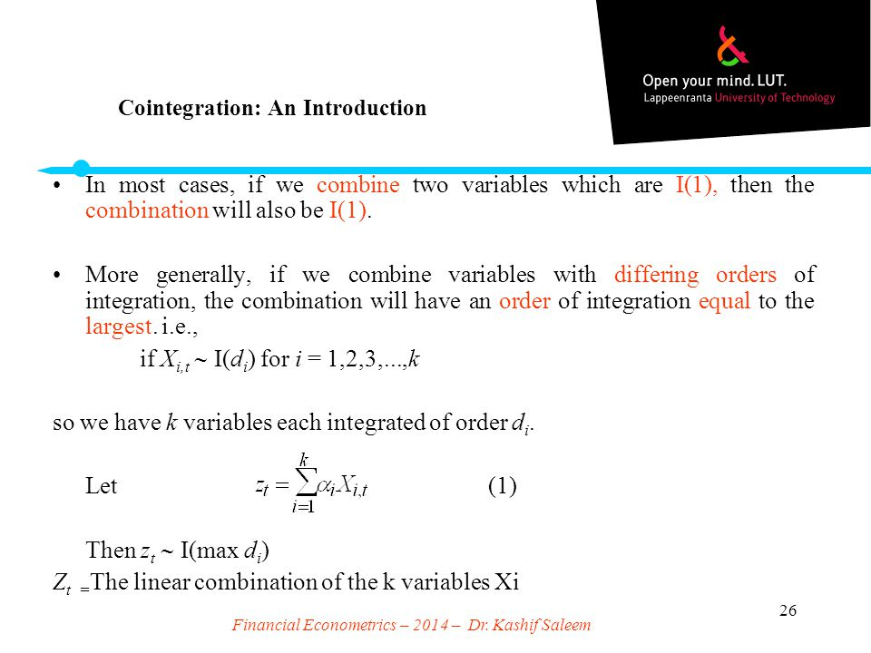 Cointegration: An Introduction