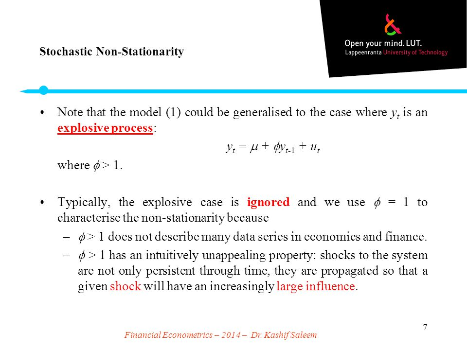 Stochastic Non-Stationarity