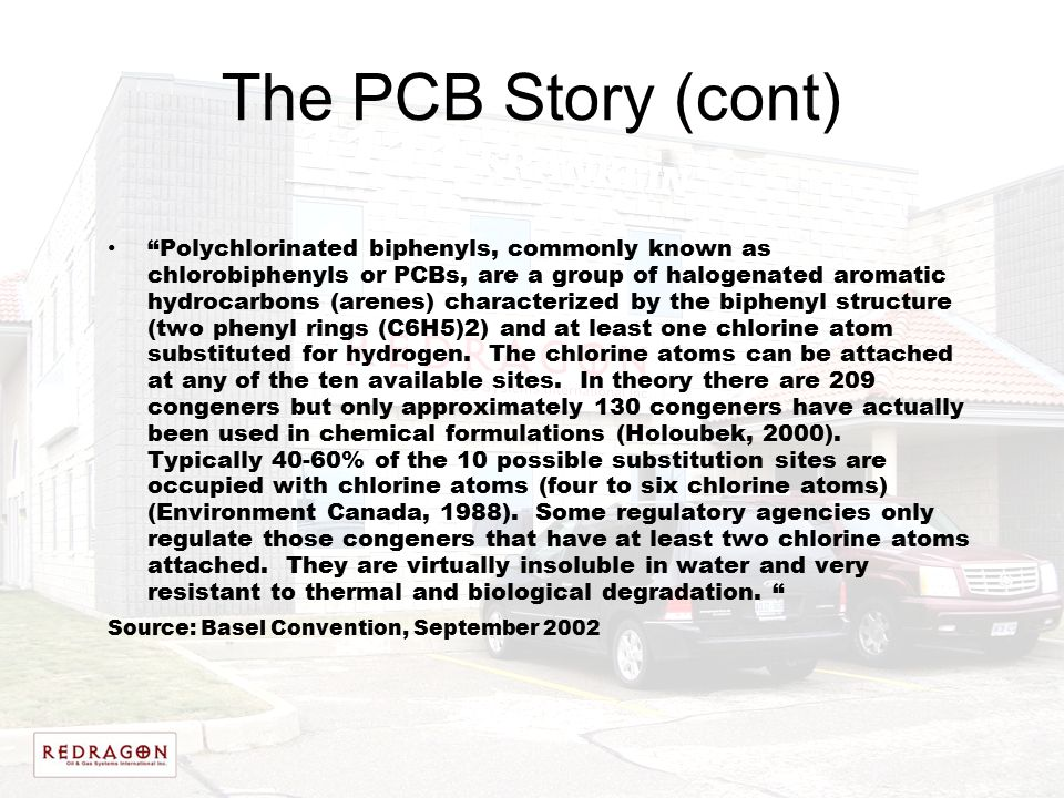 The PCB Story (cont)