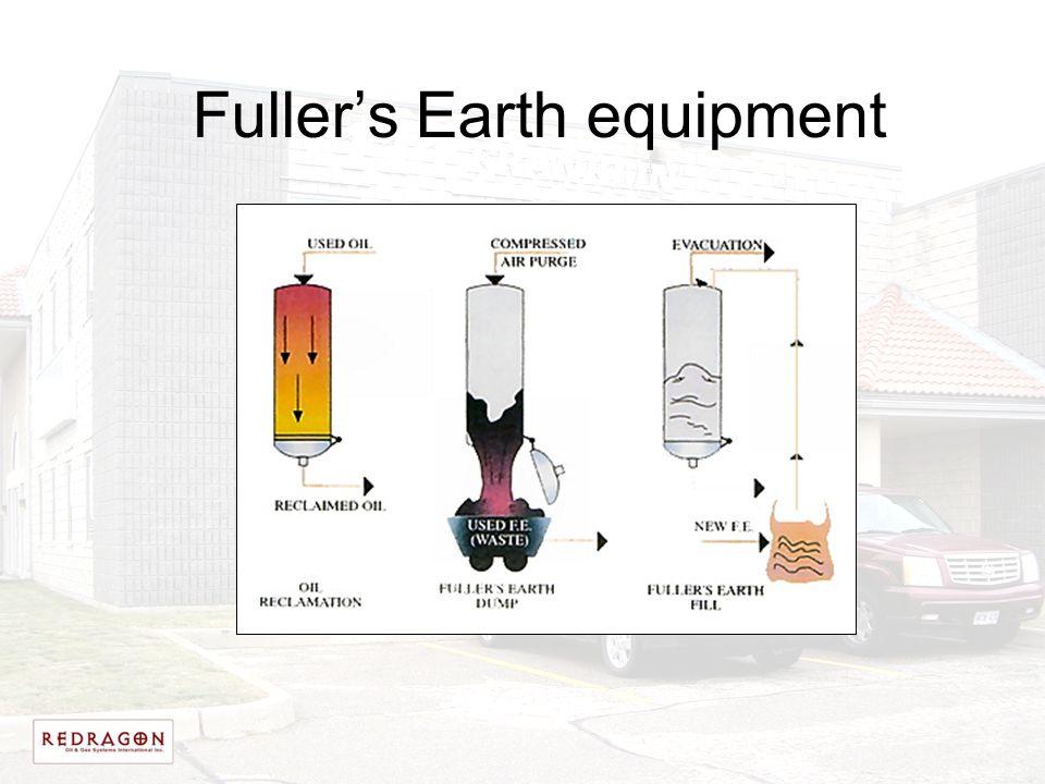 Fuller's Earth equipment