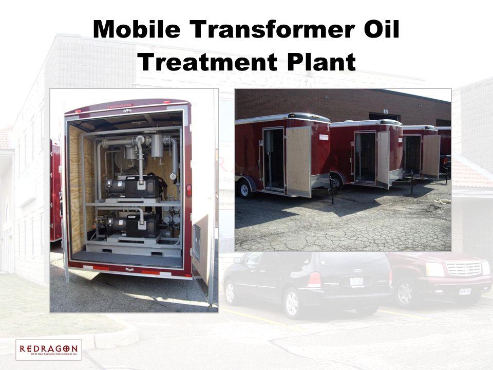Mobile Transformer Oil Treatment Plant