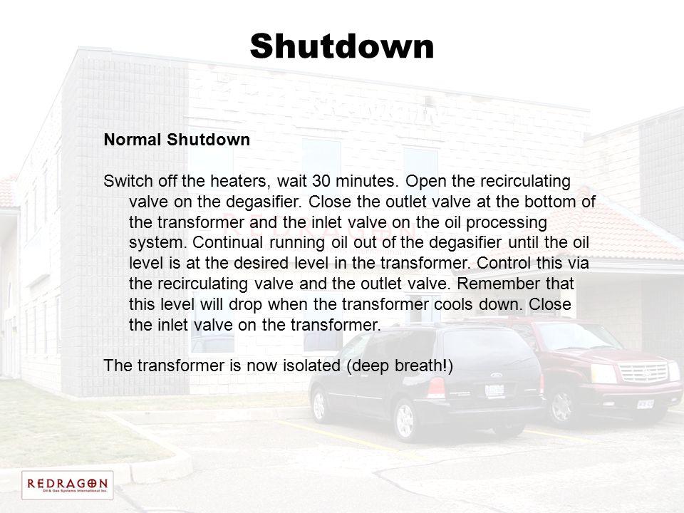 Shutdown Normal Shutdown
