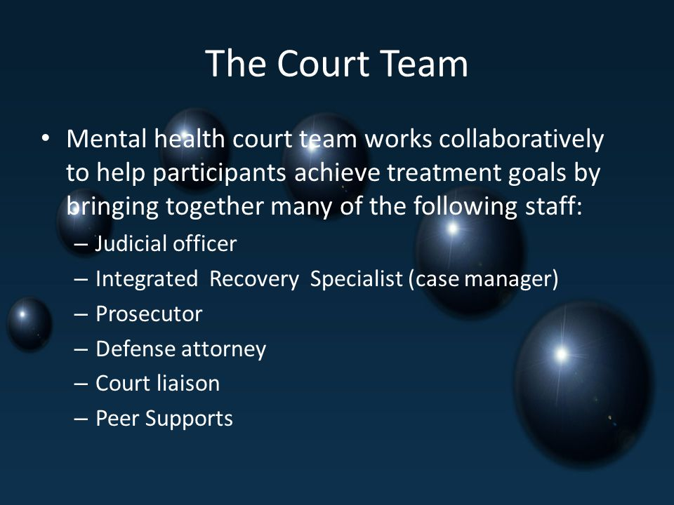 The Court Team