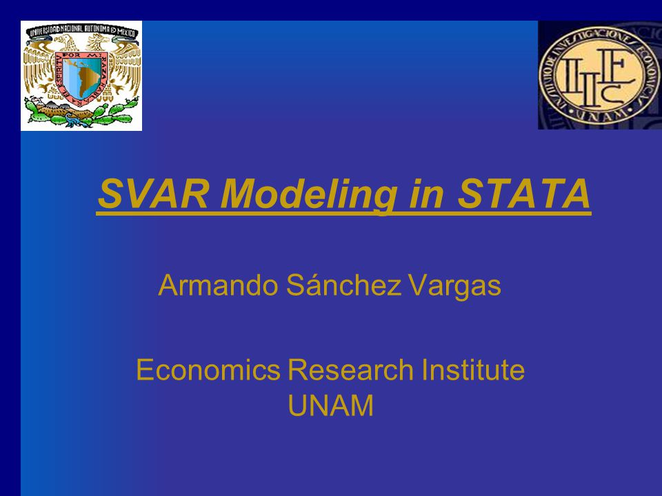 Armando Sánchez Vargas Economics Research Institute UNAM