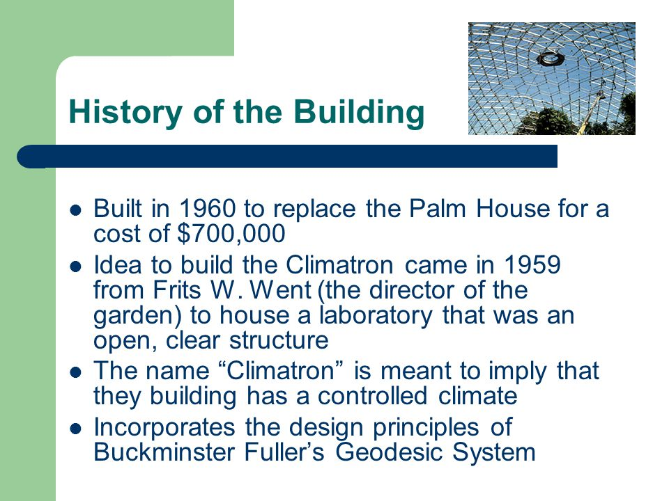 History of the Building