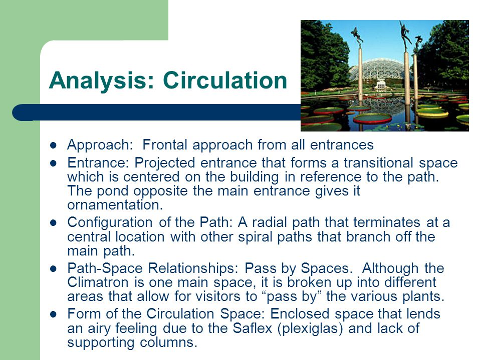 Analysis: Circulation