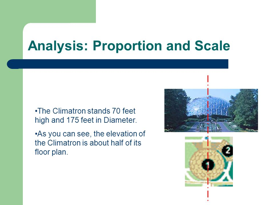 Analysis: Proportion and Scale