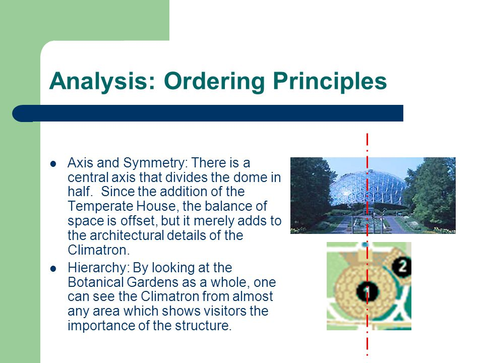 Analysis: Ordering Principles