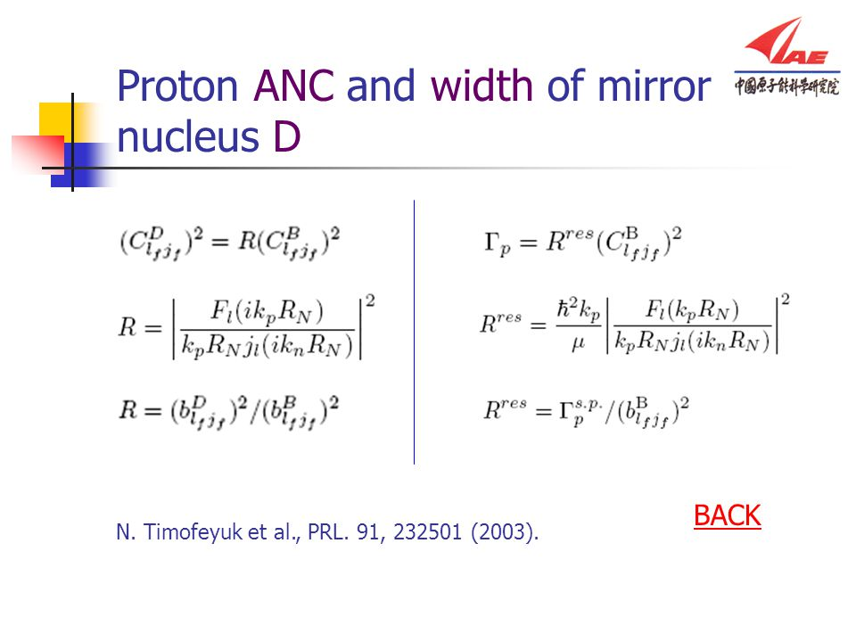 Proton ANC and width of mirror nucleus D