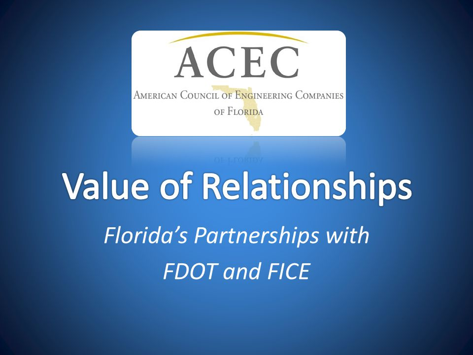 Value of Relationships