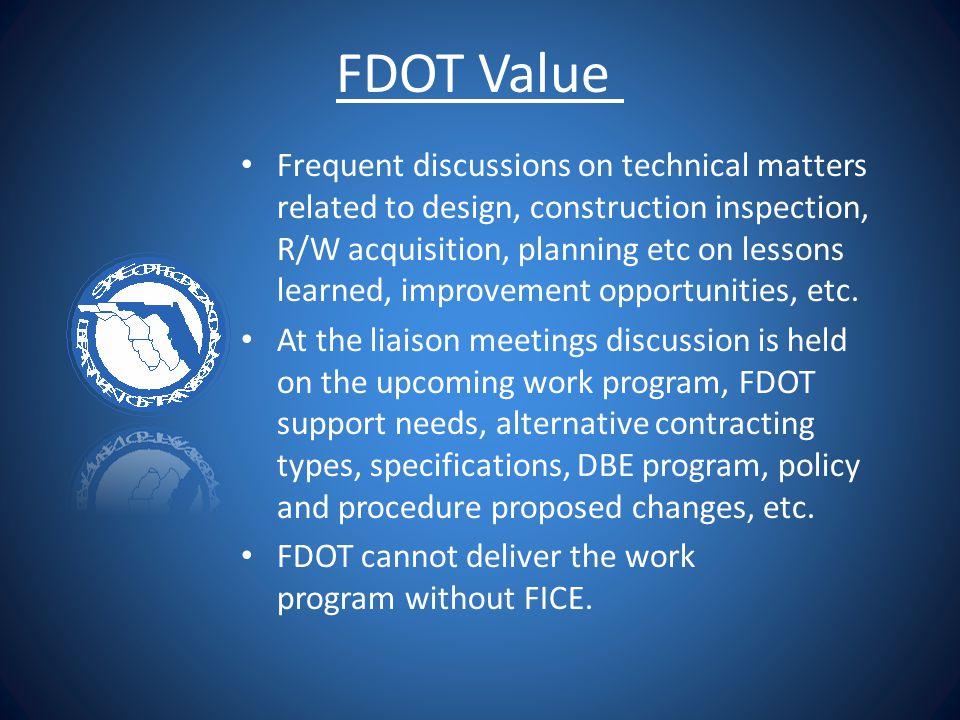 FDOT Value