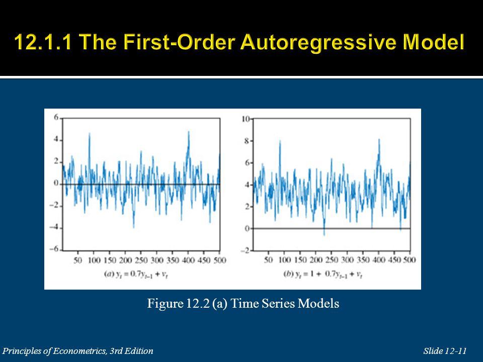 12.1.1 The First-Order Autoregressive Model