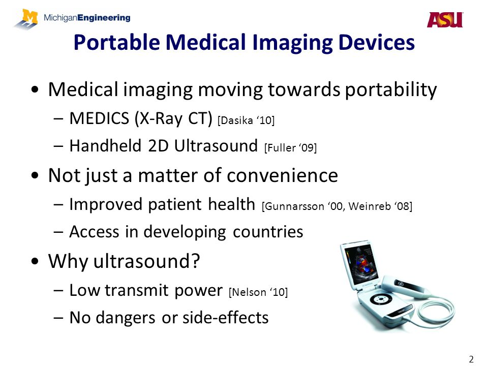 Portable Medical Imaging Devices