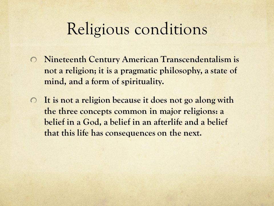 Religious conditions