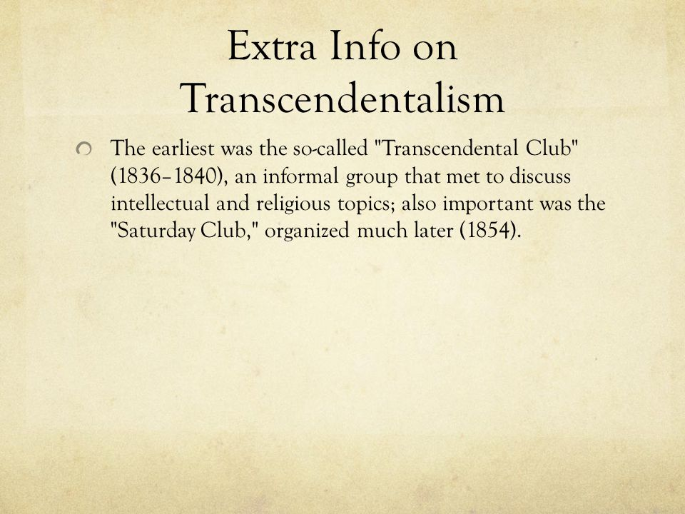 literary period transcendentalism by katelyn brook ppt video  extra info on transcendentalism