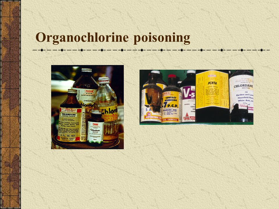 Organochlorine poisoning