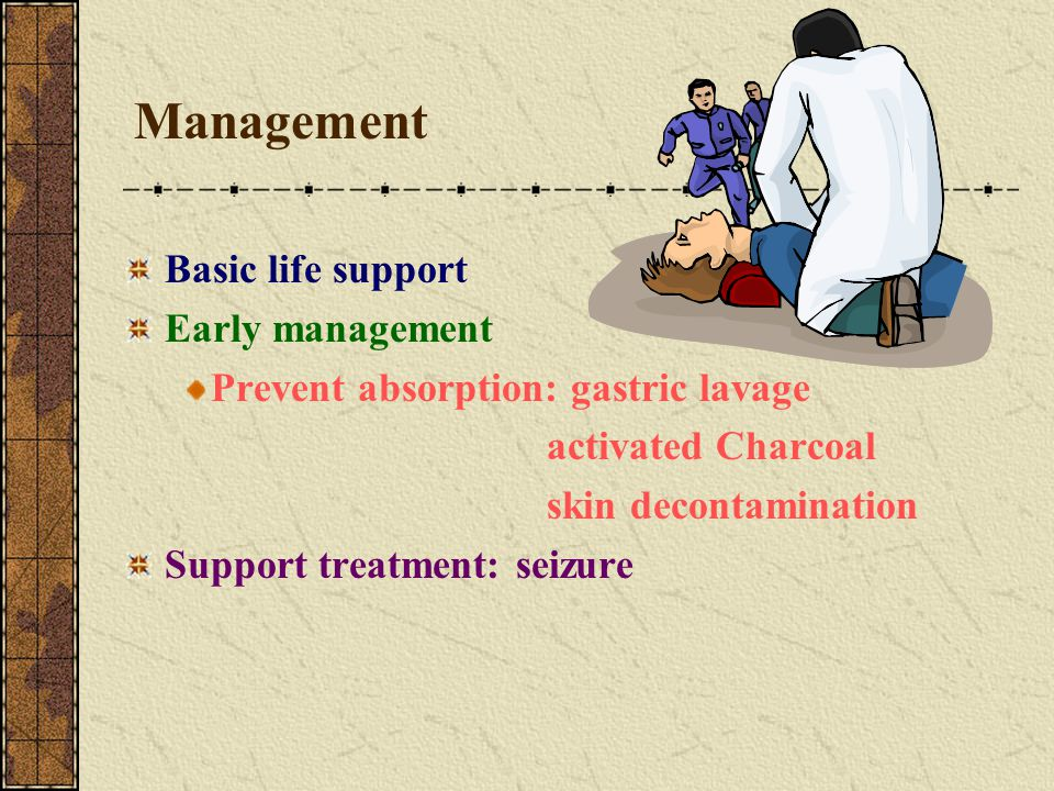 Management Basic life support Early management