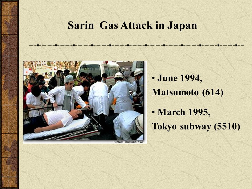 Sarin Gas Attack in Japan